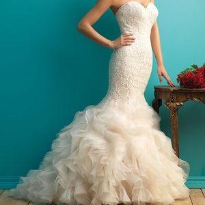 Brand new allure wedding dress